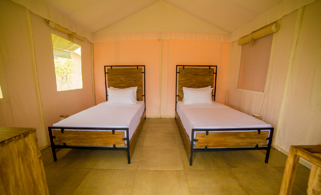 Glamping at Thinnai Organic